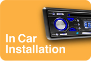 fitting car stereo, in car audio
